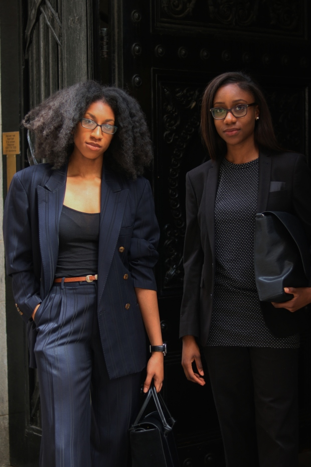 Girls In Suits